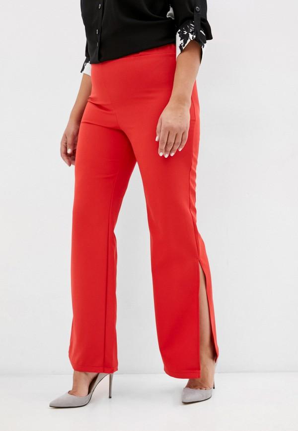 женские брюки клеш sparada, красные