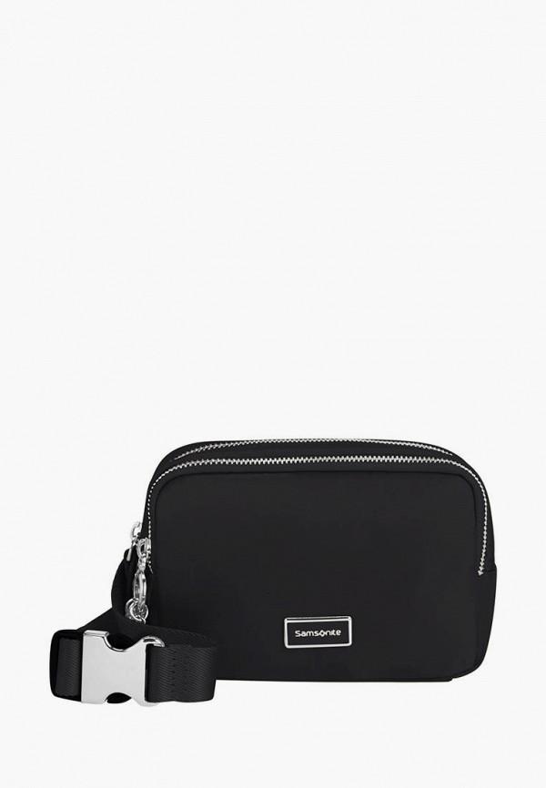 женская поясные сумка samsonite, черная