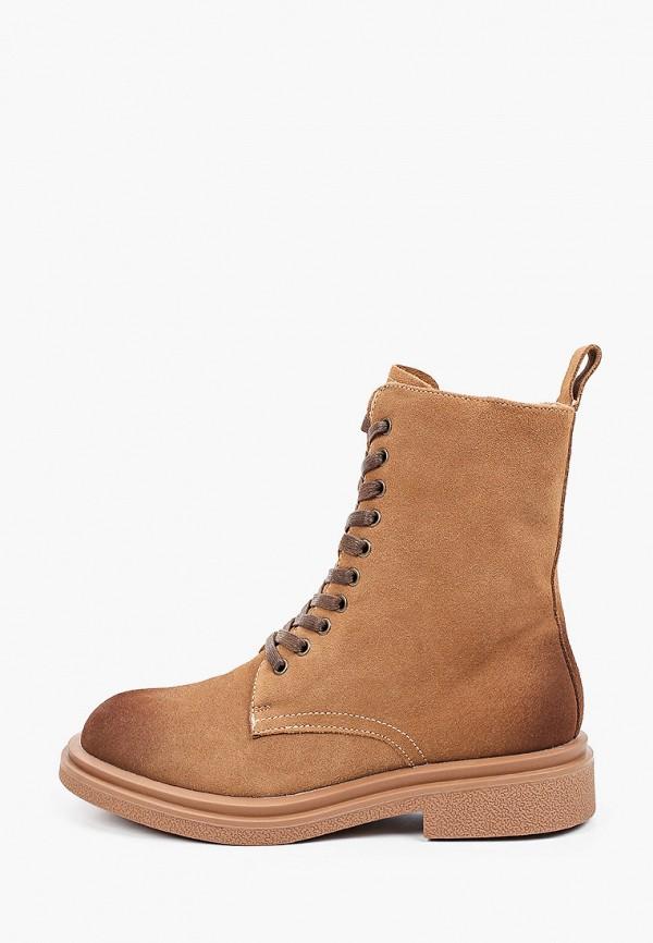 женские высокие ботинки quattrocomforto, коричневые