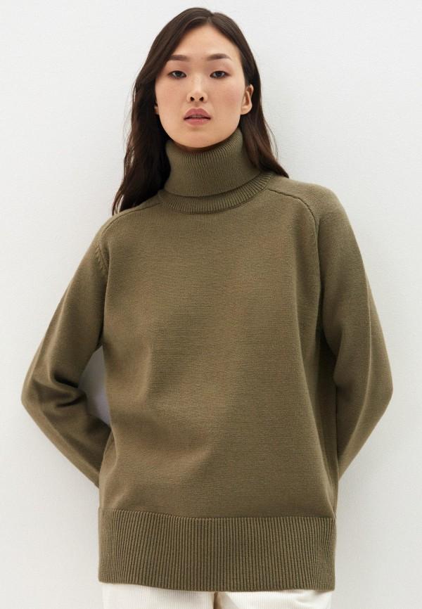 женский свитер zarina, хаки