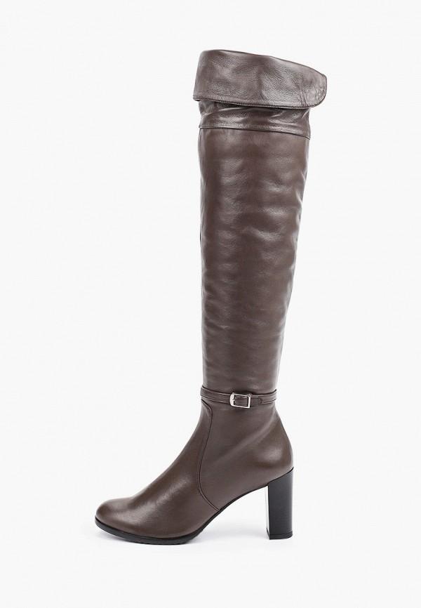 женские ботфорты lagatta, коричневые