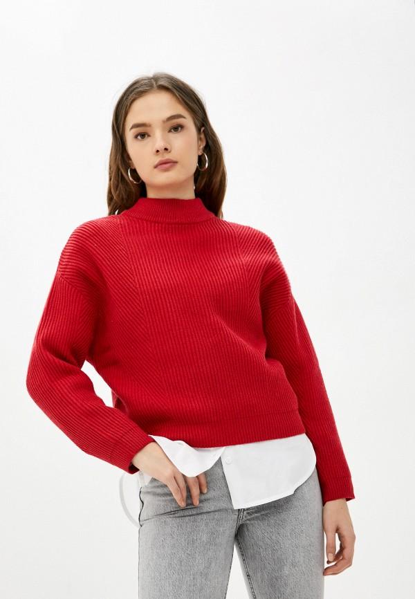 женский свитер o'stin, красный