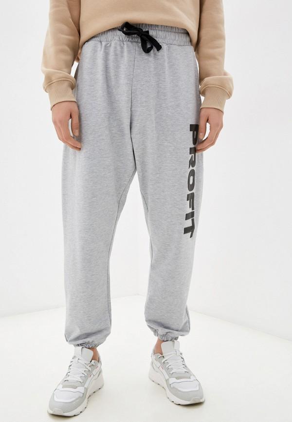 женские спортивные брюки profit, серые