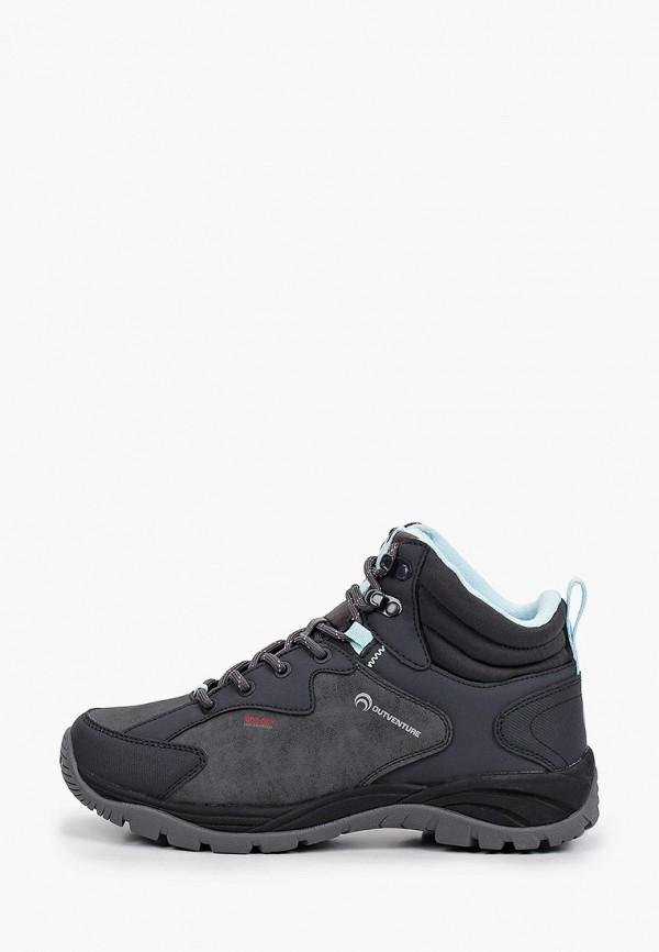 женские ботинки outventure, серые