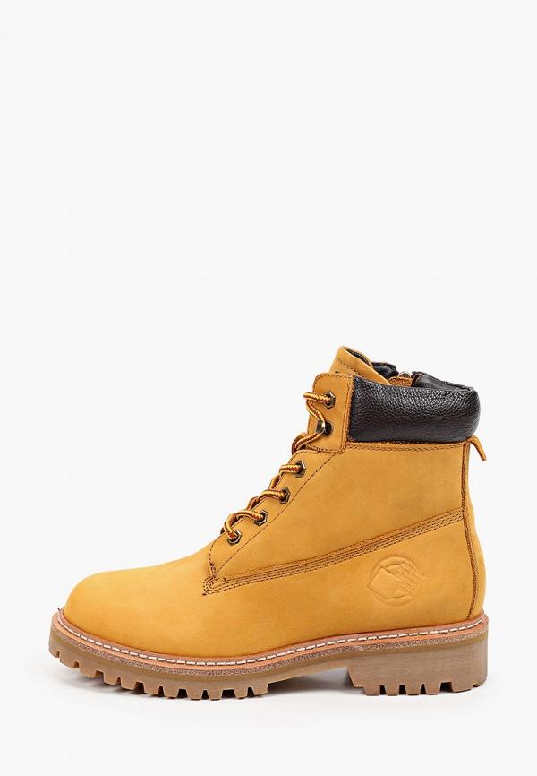женские ботинки mascotte, желтые