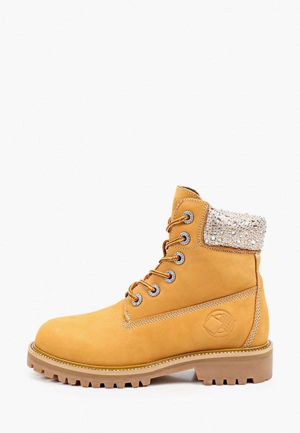 женские ботинки mascotte, коричневые