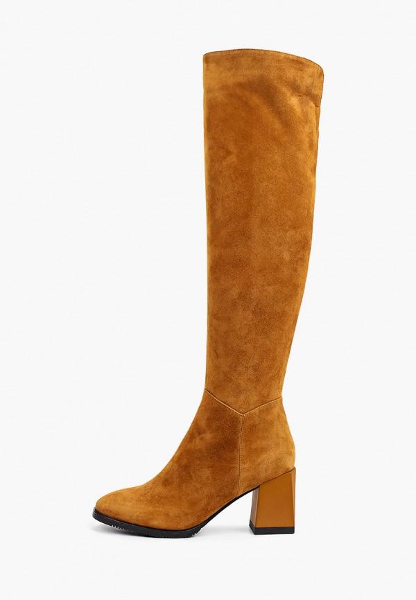 женские ботфорты mascotte, коричневые