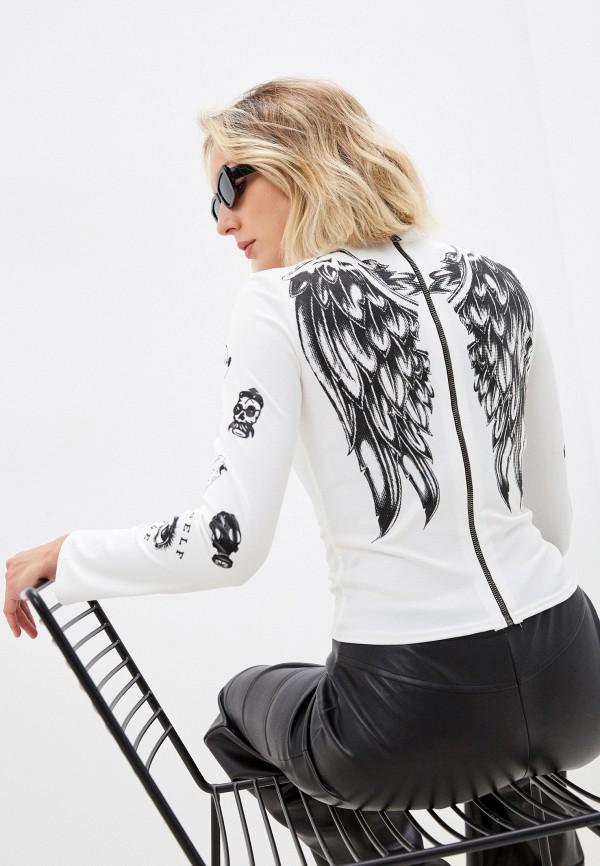 женская блузка с длинным рукавом tenera, белая