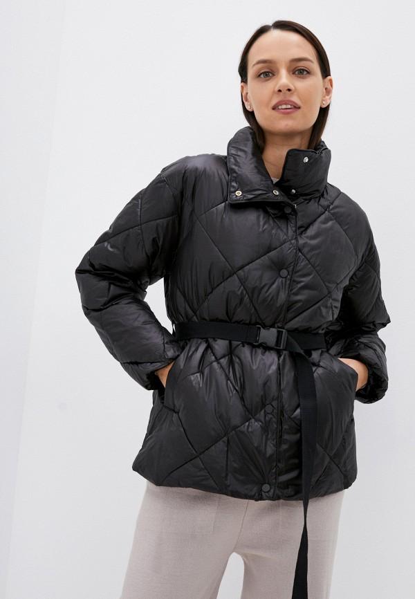 женская утепленные куртка baon, черная