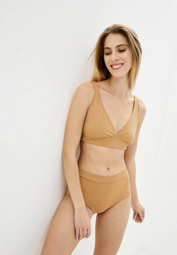 женский купальник pate, коричневый