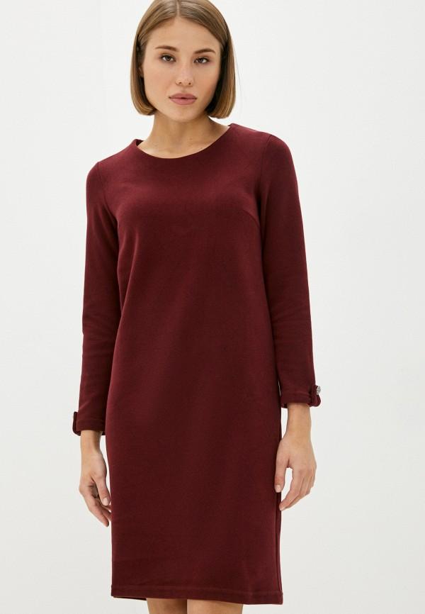 женское повседневные платье mironi, бордовое