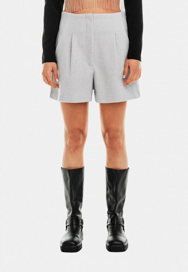 женские повседневные шорты befree, серые