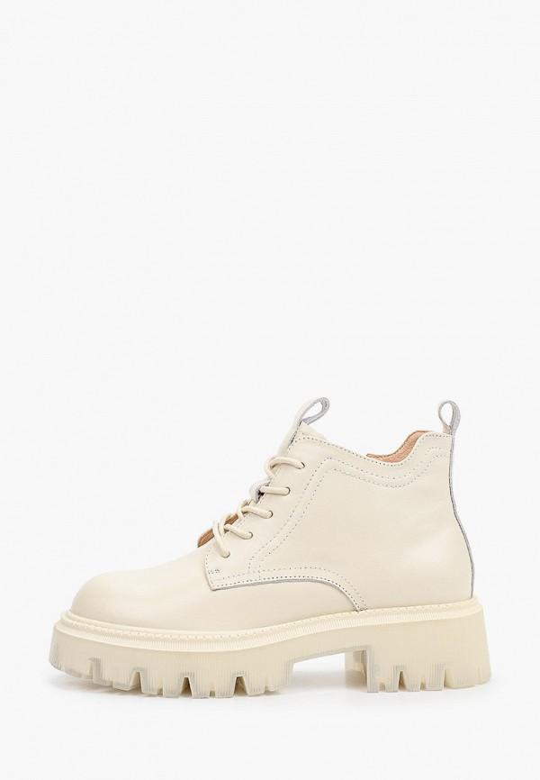 женские высокие ботинки sprincway, бежевые