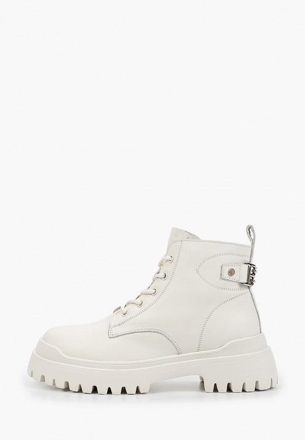 женские высокие ботинки sprincway, белые