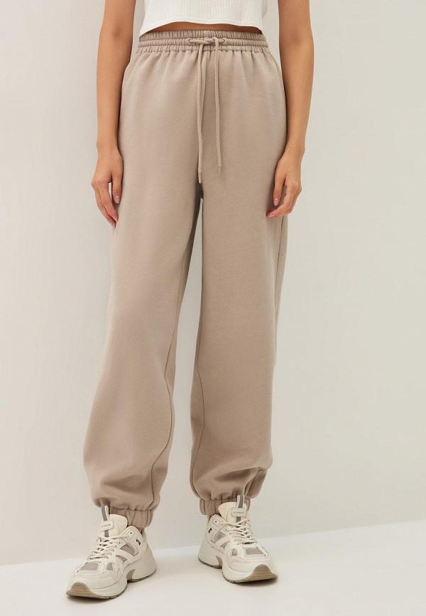 женские спортивные брюки zarina, бежевые