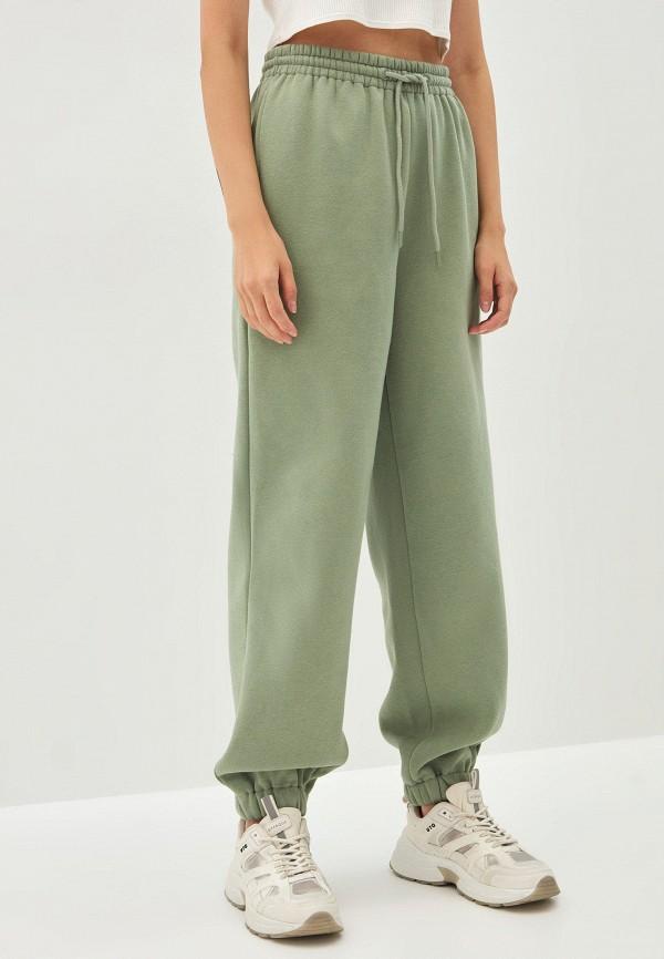 женские спортивные брюки zarina, зеленые