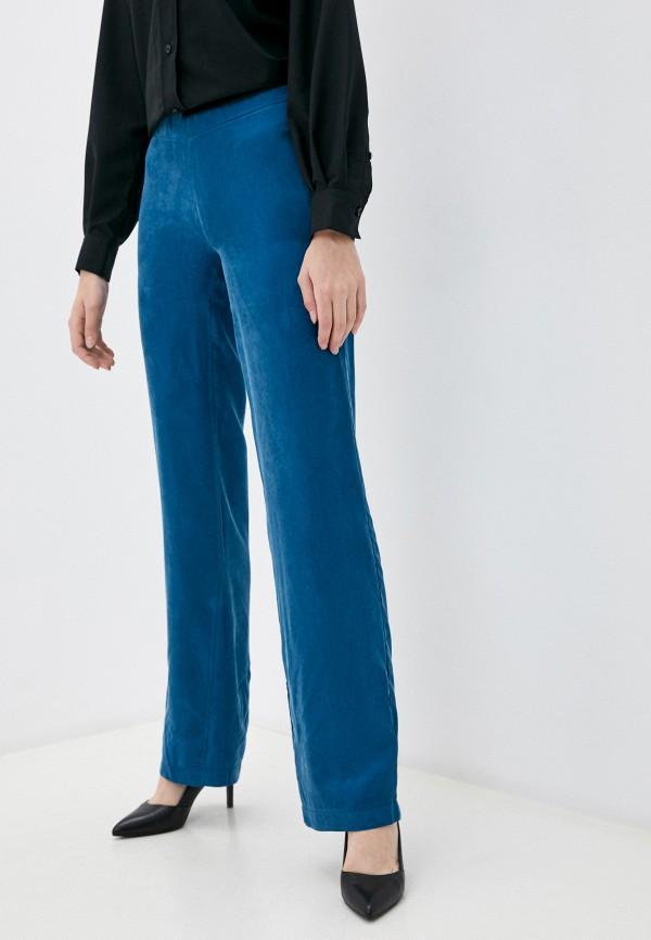 женские повседневные брюки elle land, бирюзовые