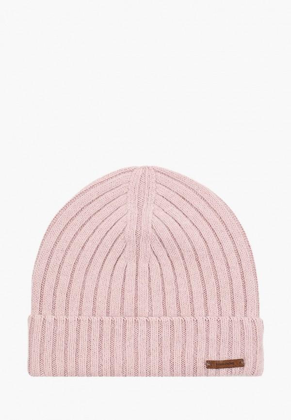 женская шапка thomas munz, розовая