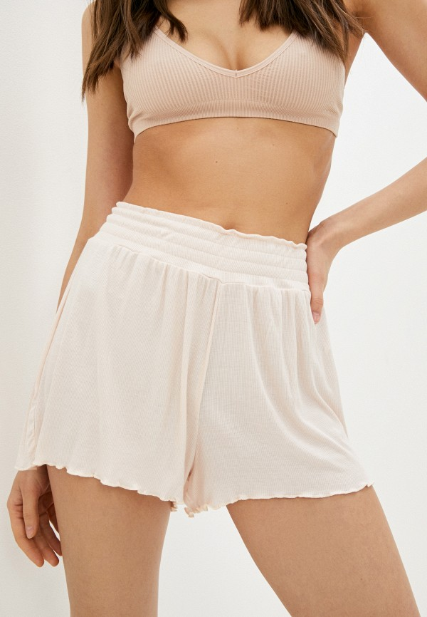 женские шорты infinity lingerie, бежевые