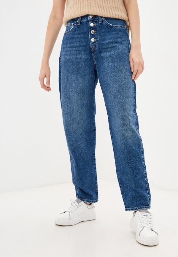 женские джинсы-мом mavi, синие