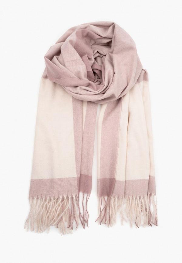 женский палантин zenden, розовый