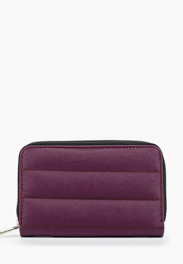 женский кошелёк colin's, фиолетовый
