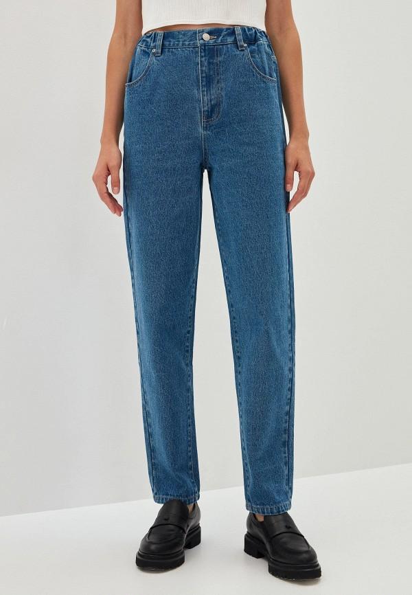женские прямые джинсы zarina, синие