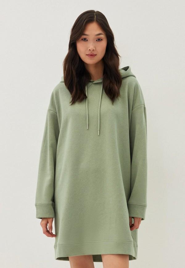 женское платье zarina, зеленое