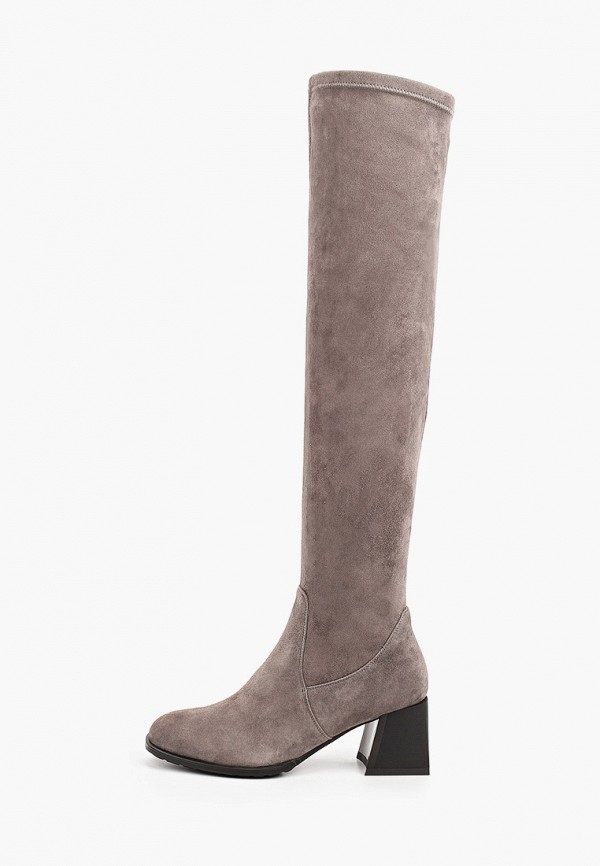 женские ботфорты francesco donni, серые