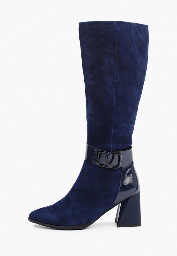 женские сапоги ascalini, синие