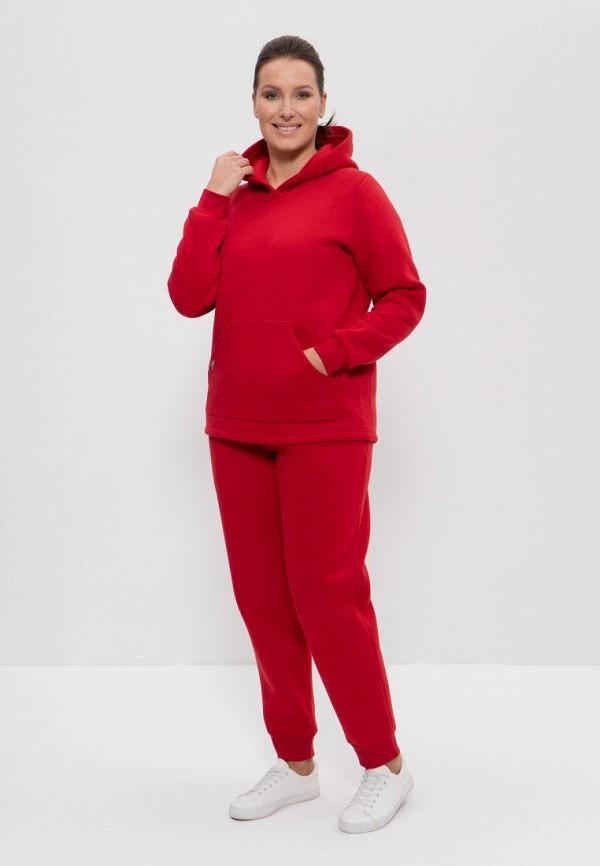 женский спортивный костюм cleo, красный
