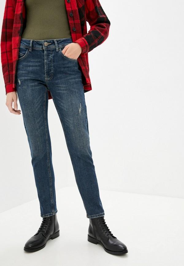 женские джинсы скинни defacto, синие