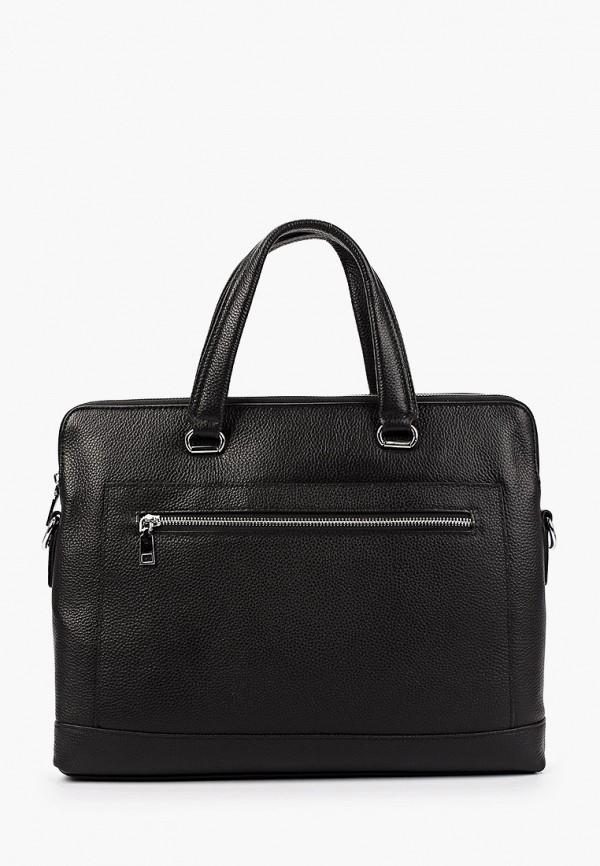 женская сумка с ручками francesco donni, черная