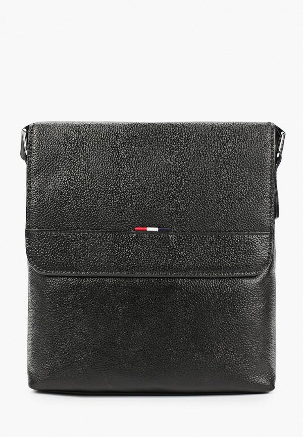 женская сумка через плечо francesco donni, черная