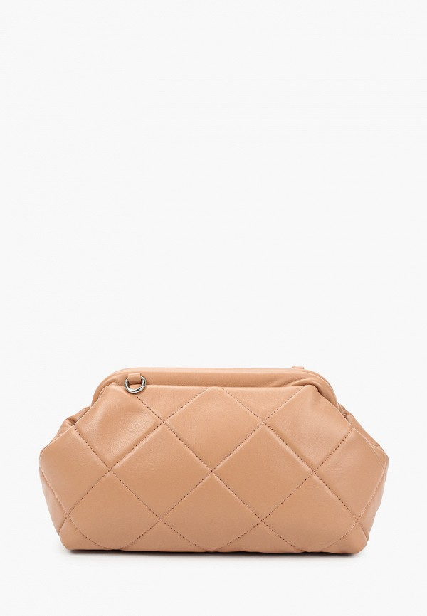 женская сумка через плечо francesco donni, бежевая