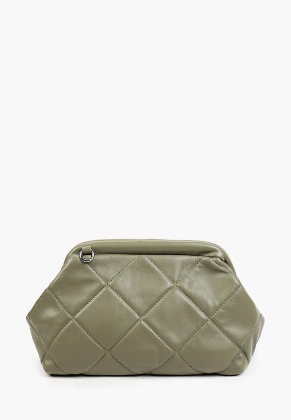 женская сумка через плечо francesco donni, зеленая