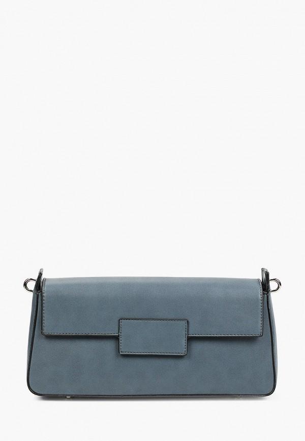 женская сумка с ручками francesco donni, синяя