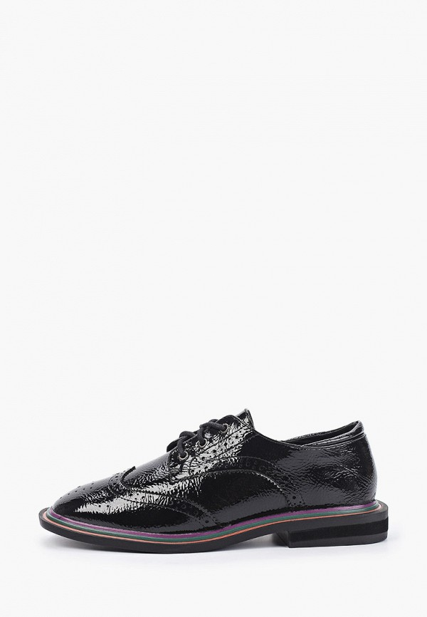 женские ботинки-оксфорды keddo, черные