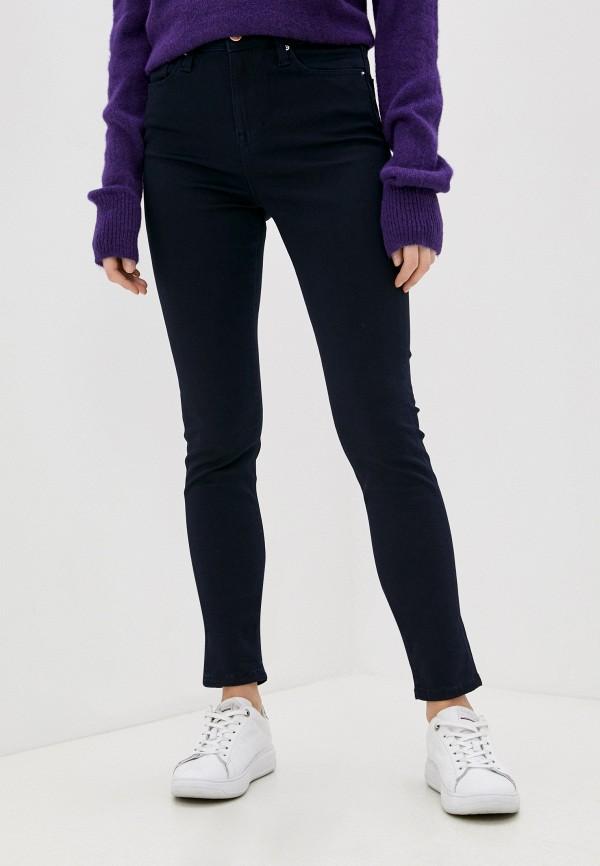 женские джинсы скинни colin's, синие
