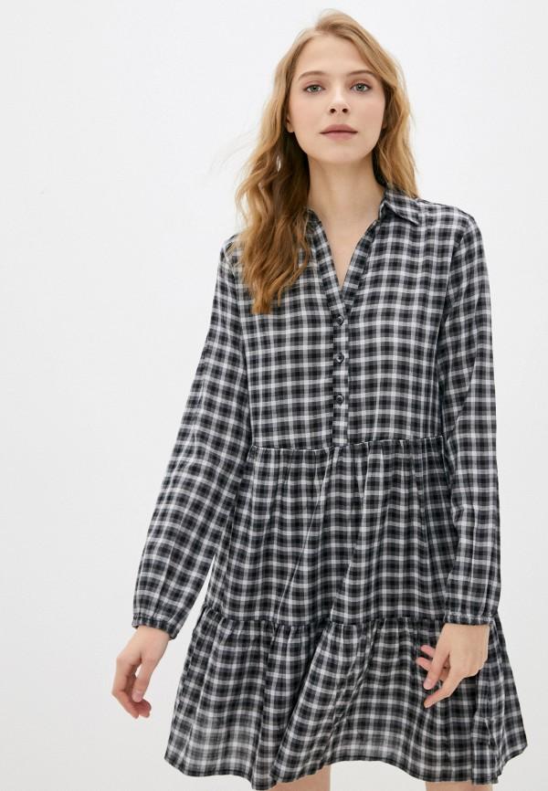 женское платье-рубашки colin's, серое