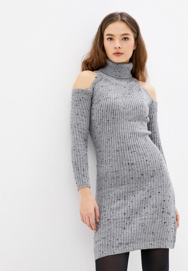 женское платье-свитеры colin's, серое