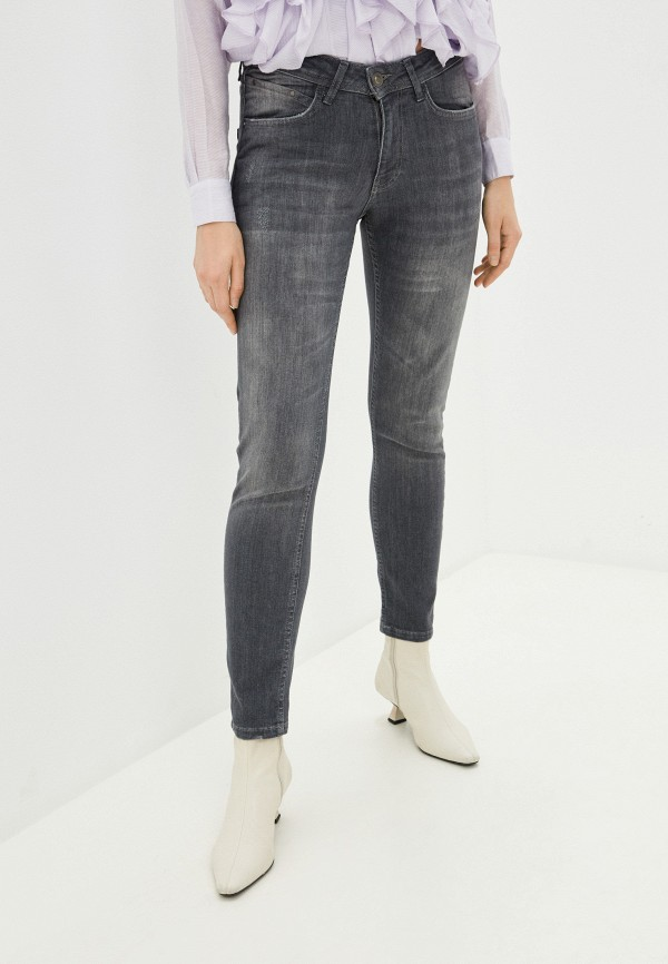 женские джинсы скинни defacto, серые