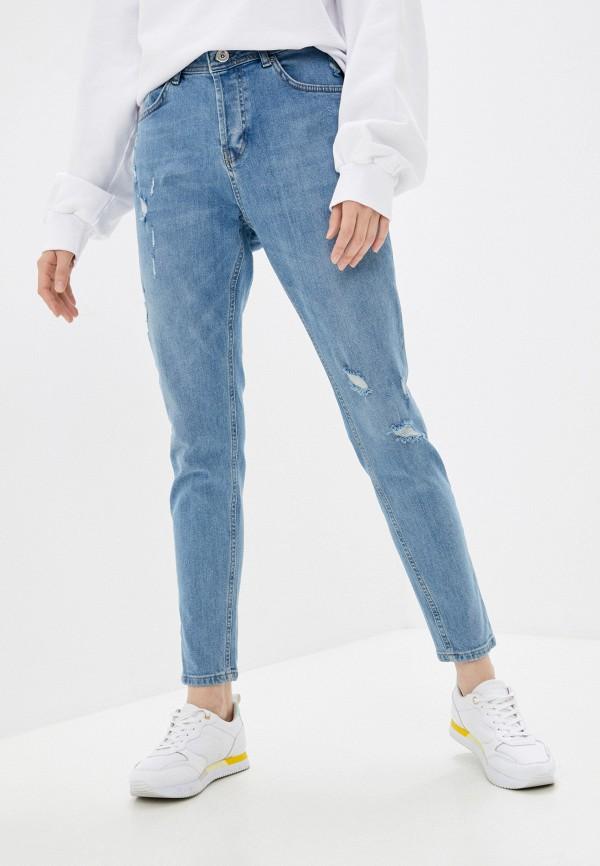 женские джинсы скинни defacto, голубые