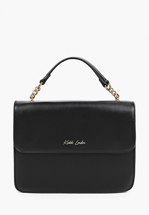 женская сумка с ручками keddo, черная