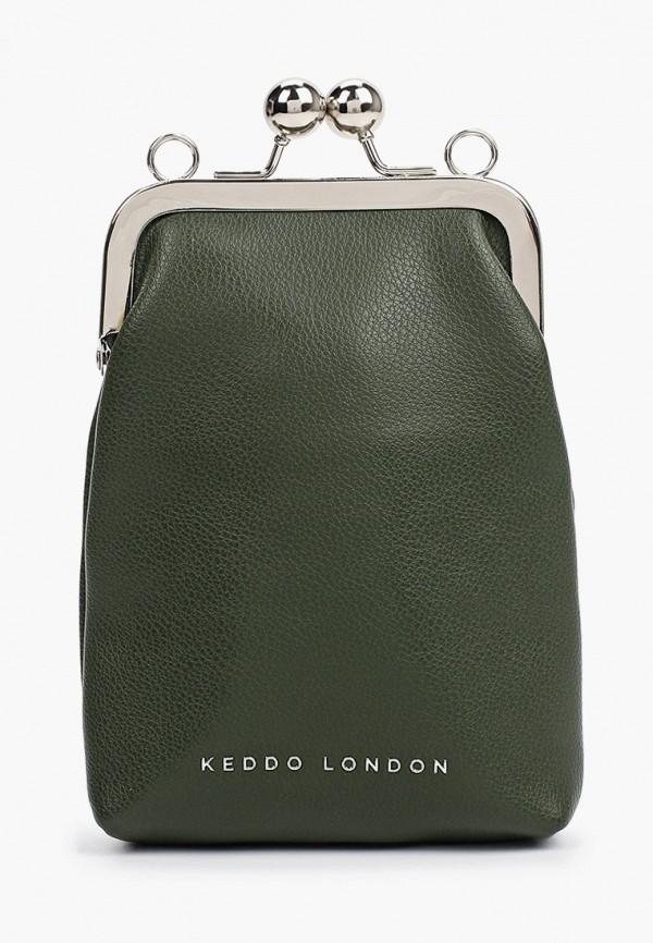 женская сумка через плечо keddo, хаки