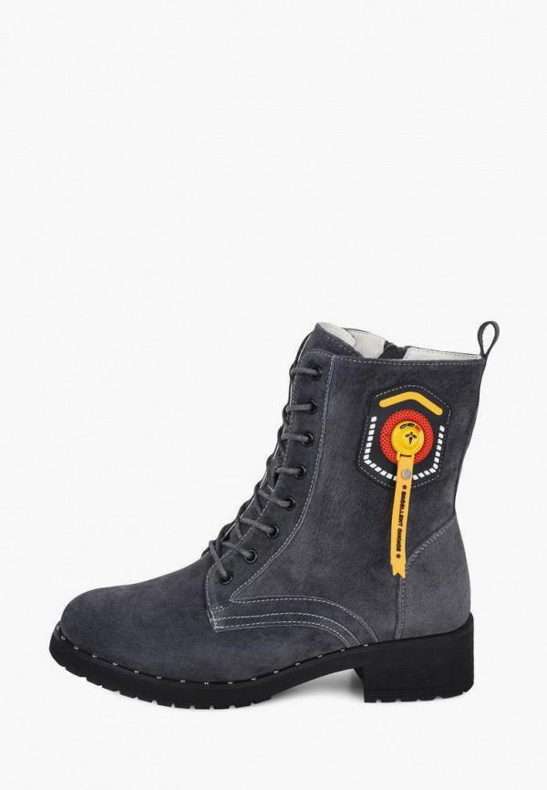 женские высокие ботинки alessio nesca, серые
