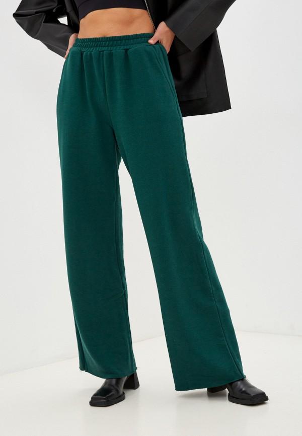 женские спортивные брюки top top, зеленые