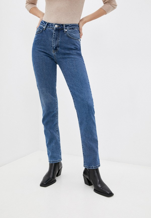 женские джинсы скинни top top, синие