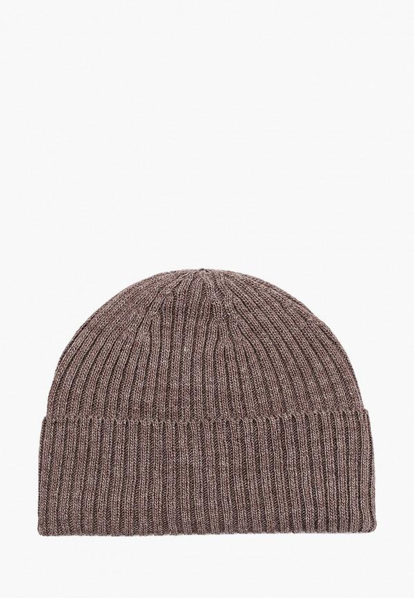 женская шапка delia, коричневая