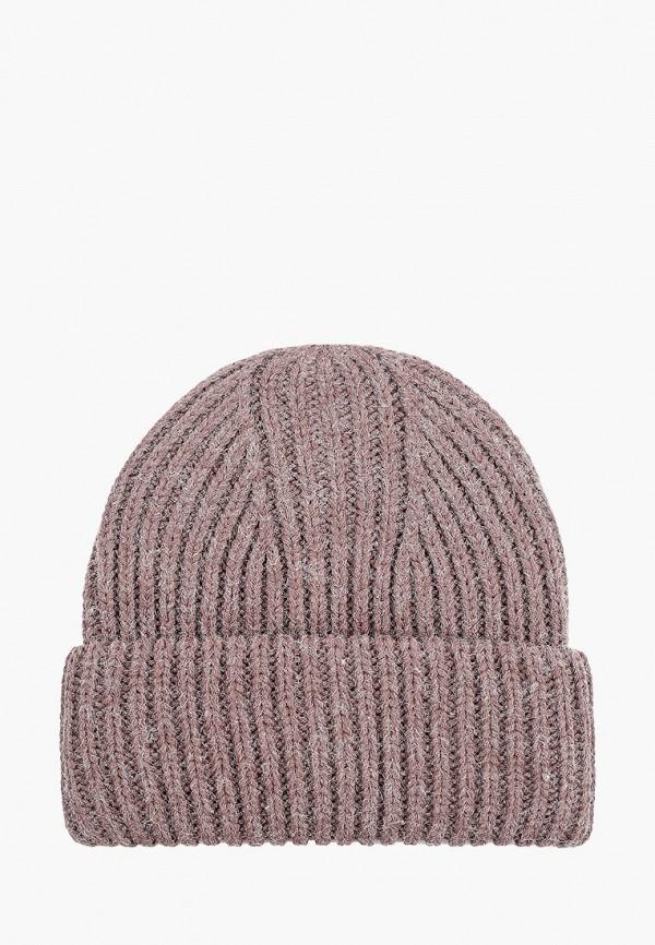 женская шапка zarina, коричневая